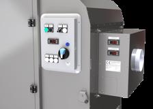 Külön vásárolható (opcionális) automatikus szellőztető