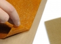 Az aszalótálca betétről (DrySilk) így lehúzható a kész aszalt gyümölcslap